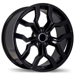 "Replika 17"" Wheel Set Audi Volkswagen 5x112 +45mm Gloss Black"
