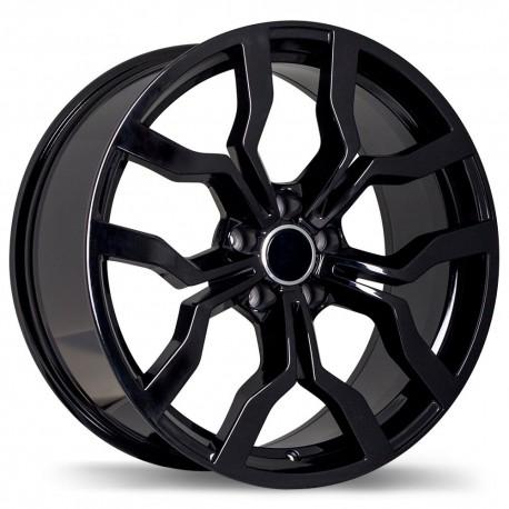 Replika Wheel Set Audi A A Volkswagen Jetta Golf X Mag Black - Mag audi