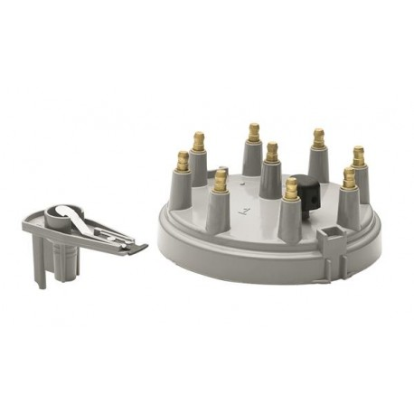 Accel Distributor Cap and Rotor Kit Grey Ford Mustang 1985-1995 V8 5.0L