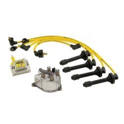 Accel Distributor Cap / Rotor / Coil / Spark Plug Wire Kit Honda Prelude 1992-1996