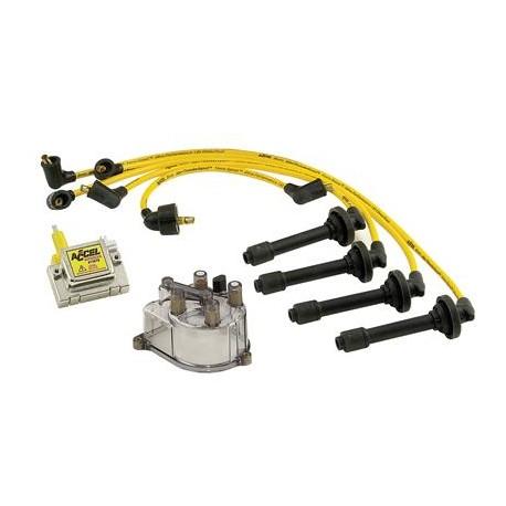 Accel Distributor Cap / Rotor / Coil / Spark Plug Wire Kit Honda Prelude  1992-1996 - Centre Mecanau Online