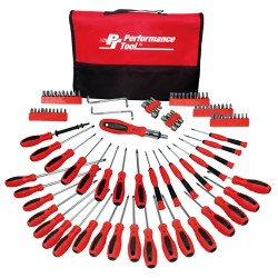 Performance Tool 100PC SCREWDRIVER SET