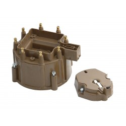 Accel Distributor Cap and Rotor Kit - HEI Style - Tan Chevrolet Camaro 1975-1987