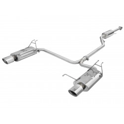 "Takeda 2-1/4"" to 2"" 304 Stainless Steel Cat-Back Exhaust System Honda Accord (Coupe) 2008-2012 V6-3.5L"