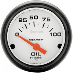 Auto Meter Electric Oil Pressure Phantom