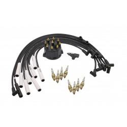 Accel Distributor Cap / Rotor Kit / Spark Plugs / Spark Plug Wire Kit Dodge Ram 1500/2500/3500 1999-2002