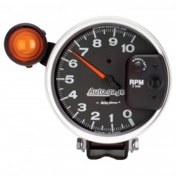 "Auto Meter 5"" Tachometer Shift Light Auto Gage"