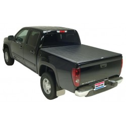 Truxedo Tonneau Cover TruXport (R) Soft Roll-Up Velcro Lockable Using Tailgate Handle Lock Black Chevrolet Colorado 2004-2012 6""