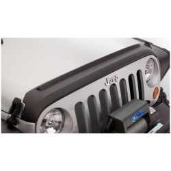 Bushwacker Jeep JK Hood Tailgate Protector Matte Black