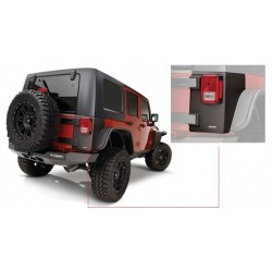 Bushwacker Jeep JK Rear Corner Matte Black