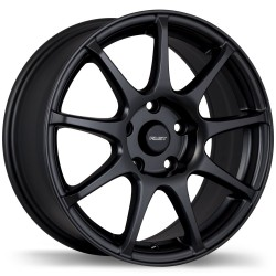 "Fast Orbit Wheel Set 15"" Honda Mazda Kia Hyundai Mitsubishi Matte Black"