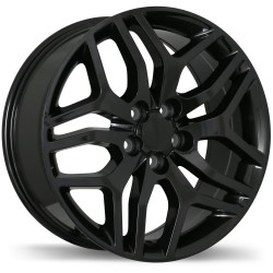 "18"" Wheel Set Ford Focus Edge Escape Replica R189 Black"
