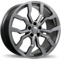 "17"" Replika Jetta Golf Audi 5x112 +45mm Gunmetal"
