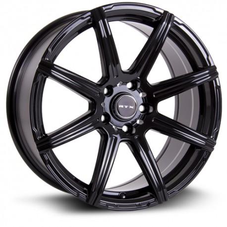 "16"" RTX Compass 5x114.3 +38mm Gloss Black Wheel Set"
