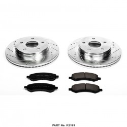 Powerstop 06-18 Ram 1500 Front Brake Kit Z23 Evolution Sport