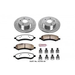 Powerstop 10-18 Ford F150 Front Brake Kit Z36