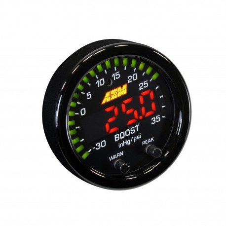 AEM X-Series Boost Gauge Display 35psi / 2.5bar
