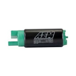 AEM 340LPH E85-Compatible High Flow In-Tank Fuel Pump Offset Inlet