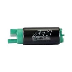 AEM 340LPH E85-Compatible High Flow In-Tank Fuel Pump Offset Inlet