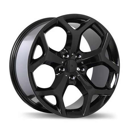 "18"" Wheel Set Replika R131C BMW 5x120 18x8.5 +46 Gloss Black"