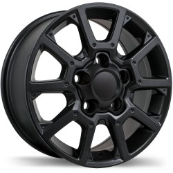 "18"" Replika Wheel Set 07-19 Tundra 18x8 5x150 +60mm Gloss Black"
