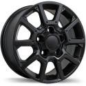 """18"""" Replika Wheel Set 07-19 Tundra 18x8 5x150 +60mm Gloss Black"""