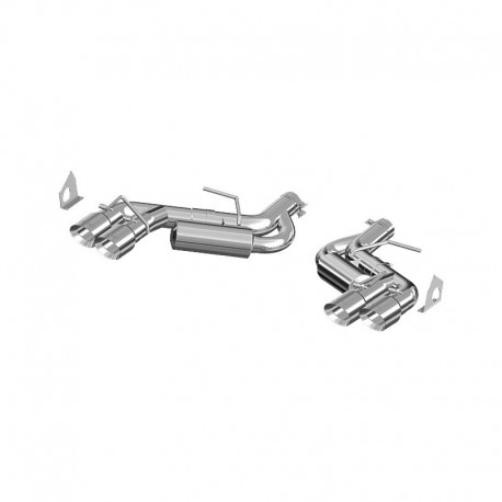 MBRP 16-18 Camaro SS Axle-Back Exhaust System