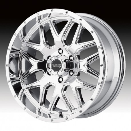 "20"" Wheel Set AR910 20x9 6x139.7 +18mm Chrome"