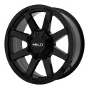 "20"" Wheel Set Helo Ford F250 F350 20x9 0mm 8x170mm Gloss Black"