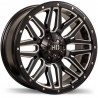 "20"" Fast Wheel SET Chevrolet Silverado GMC Sierra 2500 3500 8x180mm 20x9 +15mm"