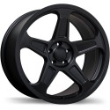 "20"" Replika Wheel Set Dodge Demon Staggered 20x9 & 20x10.5 Satin Black 5x115"
