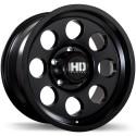 "17"" Fast Wheel Set Detour 17x9 0mm Satin Black 5x127"