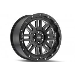 "20"" Pro Comp Wheel Set Ford F150 6x135 20x9 Satin Black Milled Accent"