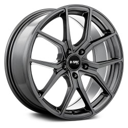 "18"" RTX FF10 Wheel Set Volkswagen Audi Gun Metal 5x112 +42mm"