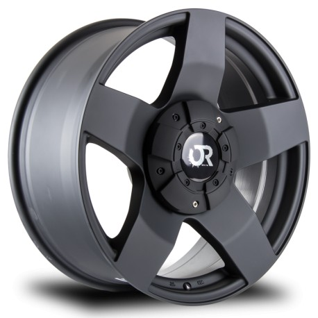 "17"" RTX Thunder 6x139.7 / 6x135 17x8 +25mm Matte Black Wheel Set"