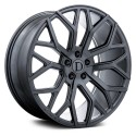 "20"" Wheel Set Deutshman Design 20x9 5x108 +35mm offset Gunmetal"