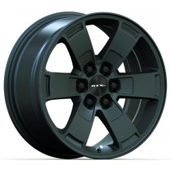 "17"" RTX Wheel Set Chevrolet Blazer Colorado GMC Canyon 17x8 +30mm Satin Black"