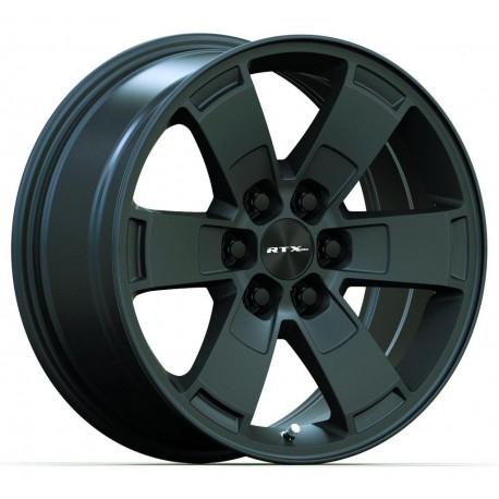 "17"" RTX Wheel Set Chevrolet Blazer Colorado GMC Canyon 17x8 +30mm Satin Black"