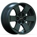 "17"" RTX Wheel Set Chevrolet Blazer Colorado GMC Canyon 6x120 17x8 +30mm Satin Black"