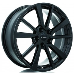 "18"" Wheel Set RTX Nissan Rogue Altima Leaf Murano Maxima 18x8 +35mm Gloss Black"