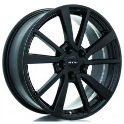 "18"" Wheel Set RTX Nissan Rogue Altima Leaf Murano Maxima 18x8 +35mm Gloss Black"