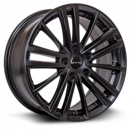 "17"" Wheel Set Subaru Forester Impreza Legacy 17x7.5 5x114.3 +42mm Satin Black"