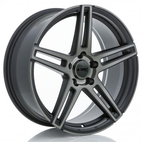 "20"" RTX Wheel Set 5x114.3 20x8.5 +30mm Satin Black Machined Bronze"