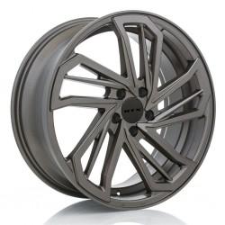 "18"" RTX Wheel Set Scimitar Audi BMW Mercedes 5x112 18x7.5 +35mm Bronze Finish"