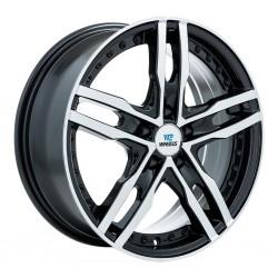 "17"" CW Wheel Set Aries BMW Cadillac Honda Buick 17x7 5x120 +35mm Black Machined"