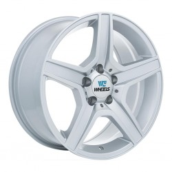 "17"" Replica Wheel Set BMW Mercedes Audi 17x8 5x112 +35mm Silver"