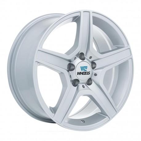 "17"" Replica Wheel Set BMW Mercedes Audi 17x8 5x112 +35mm Silver"