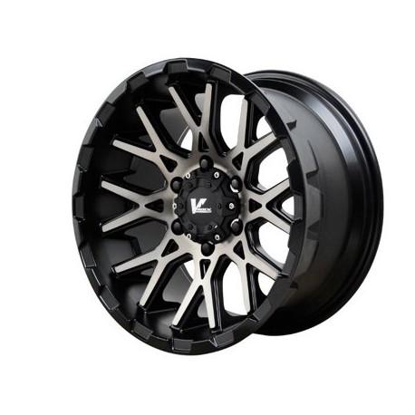 "20"" Wheel Set Ford F150 VRock Recoil Black Dark Tint Face 20x9.5 +15mm"