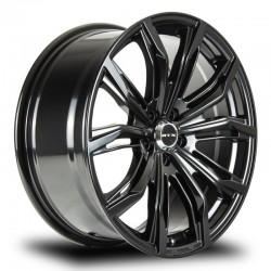 """22"""" RTX Wheel Set Audi E-Tron Q5 BMW X5 X7 Satin Black 22x9.5 +40"""