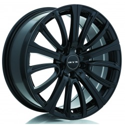 "20"" RTX Wheel Set Tesla BMW  Cadillac GMC Black 5x120 20x8.5 +35"